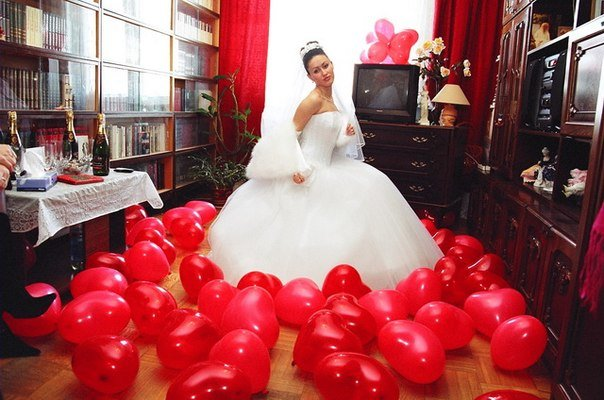 Украшение комнаты на свадьбу свадьбы