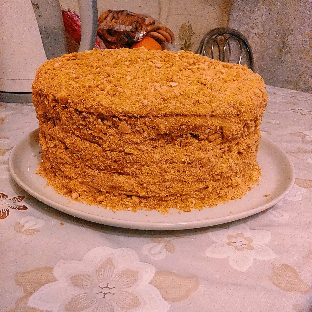 Торт с вареной сгущенкой пошаговый рецепт