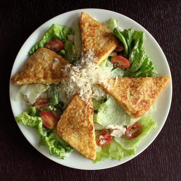 Французский с курицей салат рецепт с