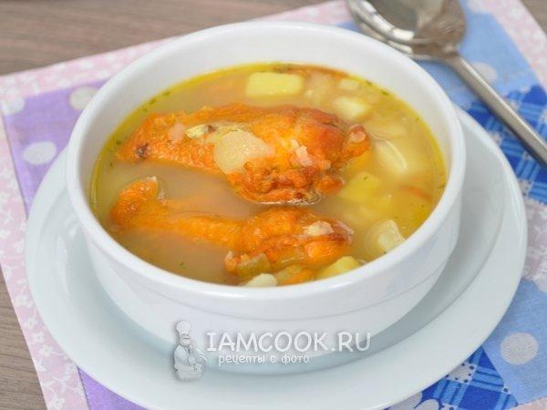 Суп гороховый с копчеными крылышками пошаговый рецепт