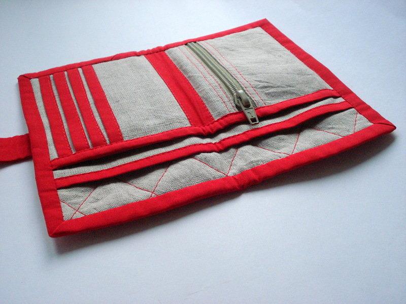 Кошельки из ткани своими руками