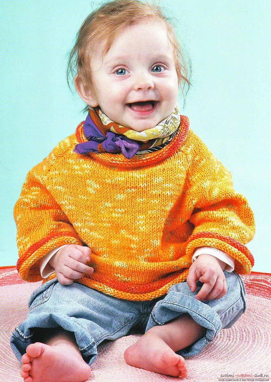 Стильное вязание для детей 61