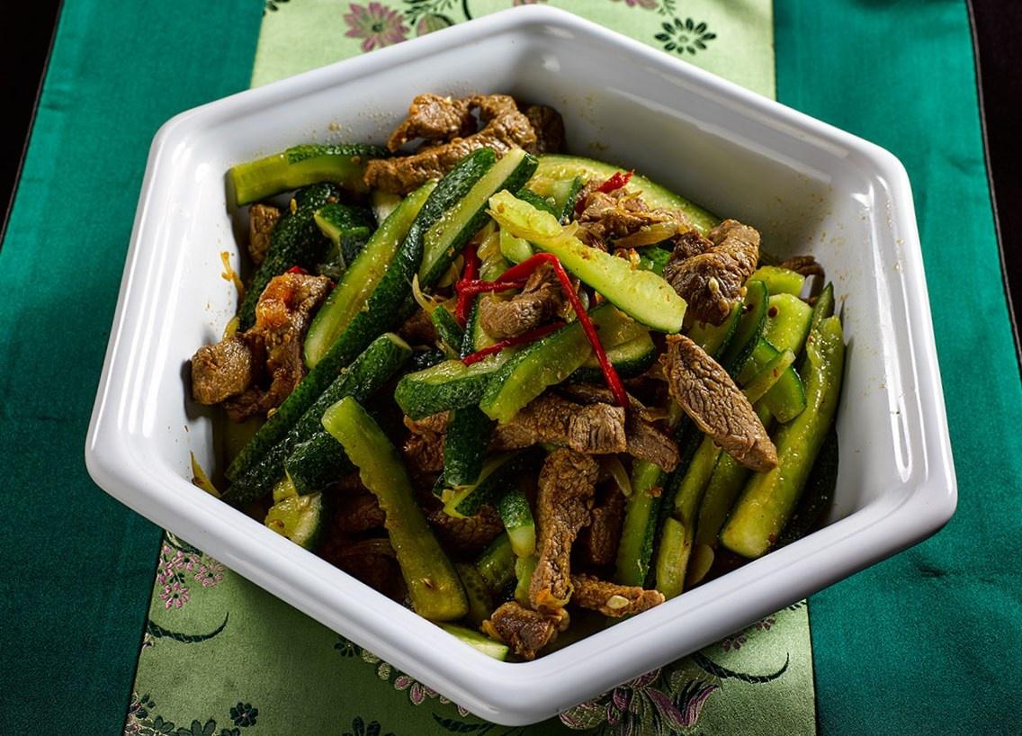 Рецепты китайских салатов с мясом