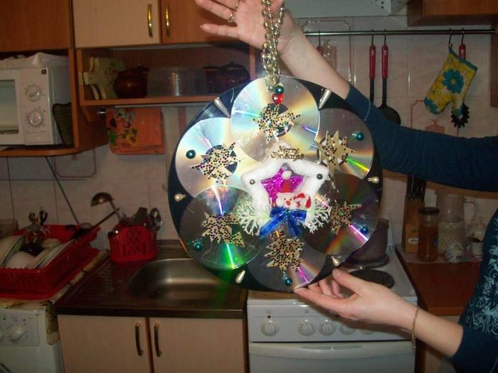 Уличные новогодние игрушки своими руками