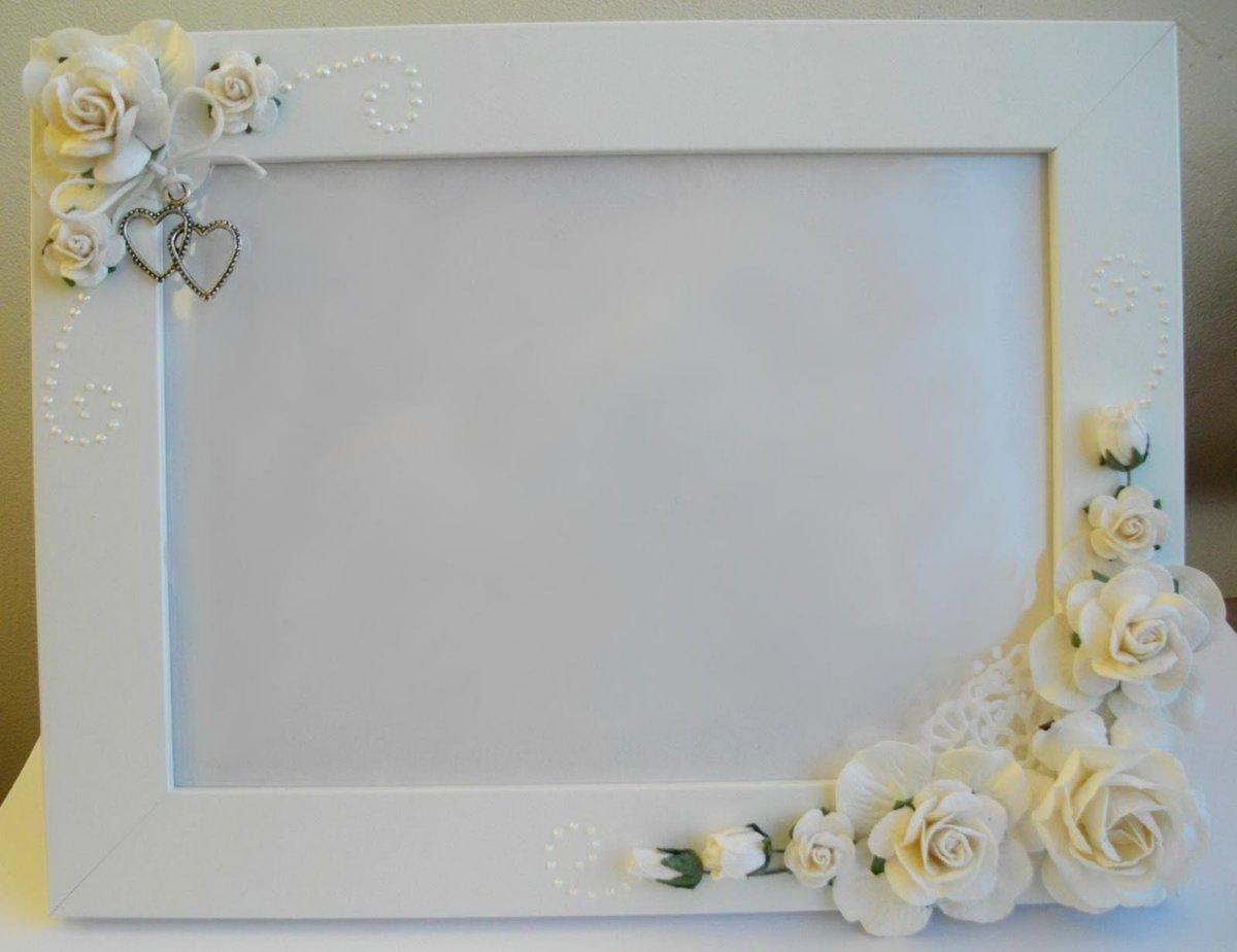 Рамка на свадьбу декор