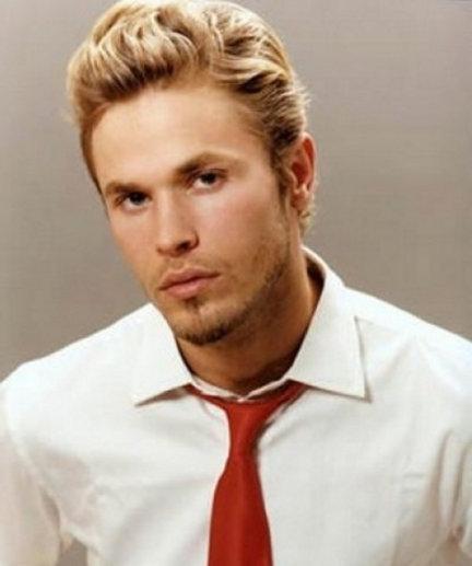 Фото причесок для блондинов