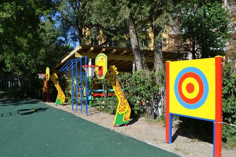 Игровые площадки для детей в детском саду своими руками