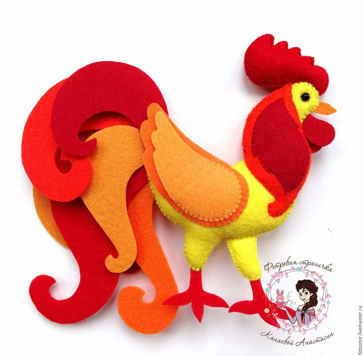 Поделки петухи и курицы