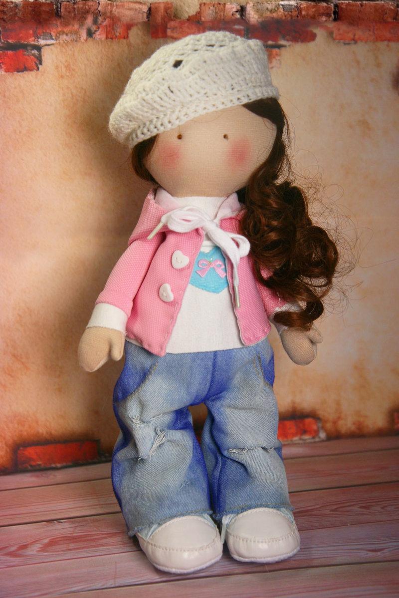 Куколка в джинсах своими руками