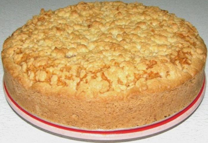 Пирог с песочного теста рецепты с