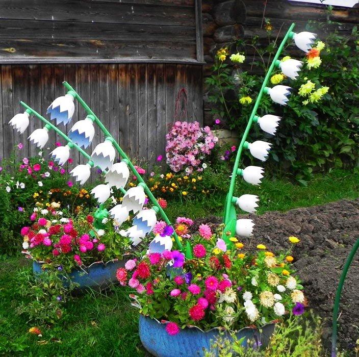 Как оформить свой участок цветами