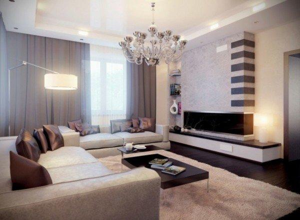 Как сделать современную гостиную