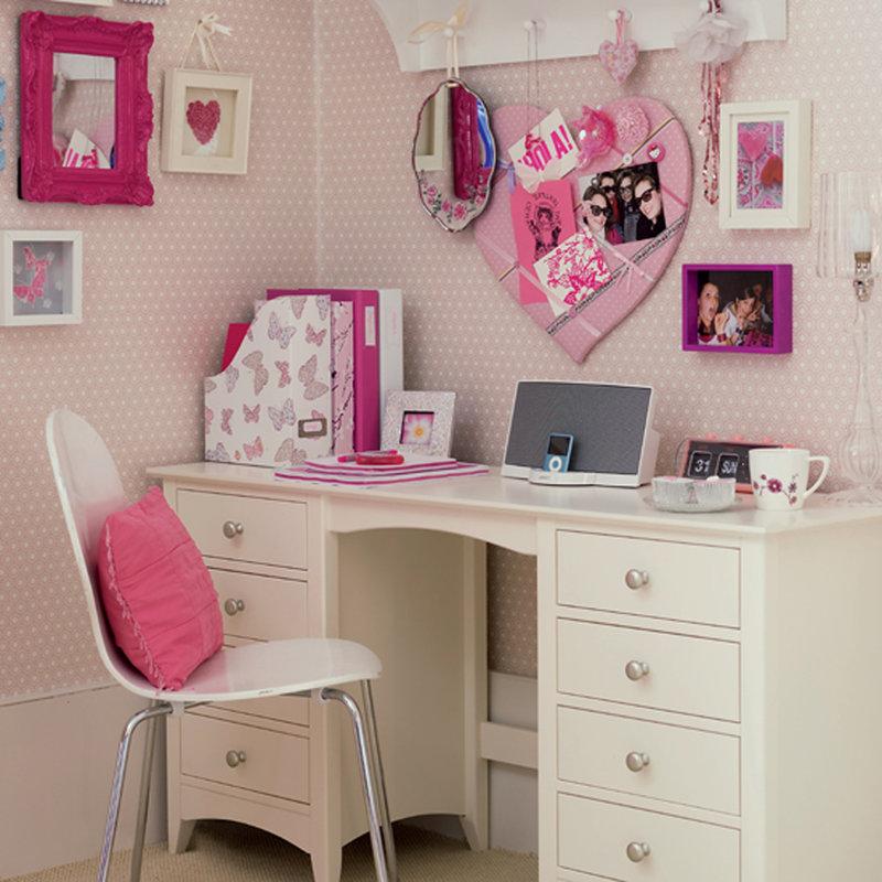 Идеи для декора рабочего стола для девочки