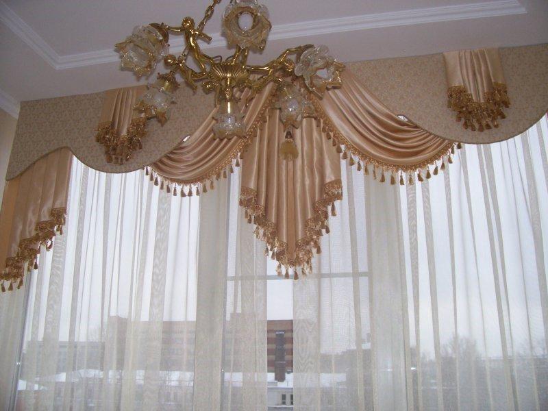 Фото самых красивых штор в гостиную