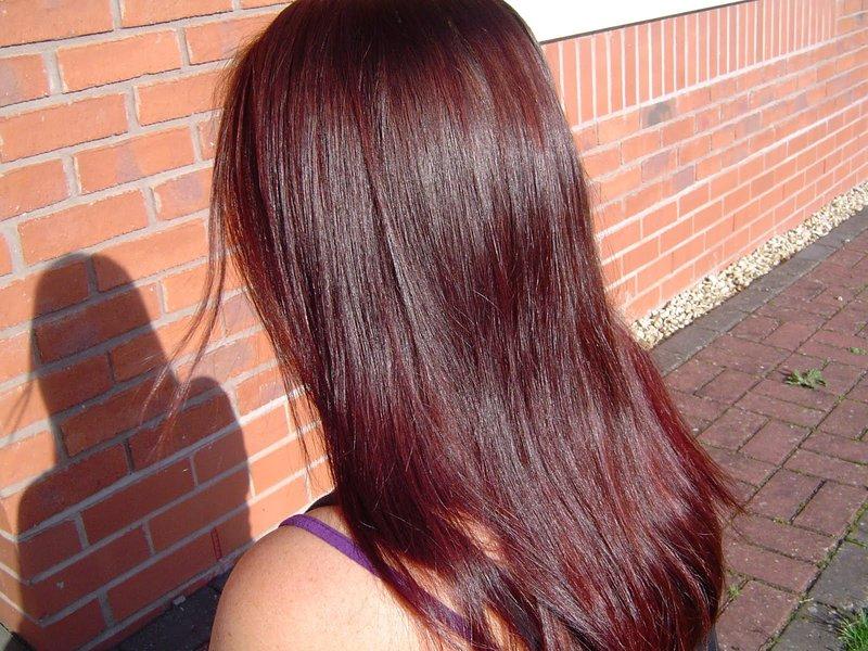 Цвет волос хной фото