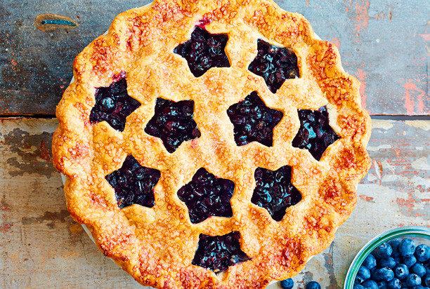 Черничный песочный пирог рецепт пошагово