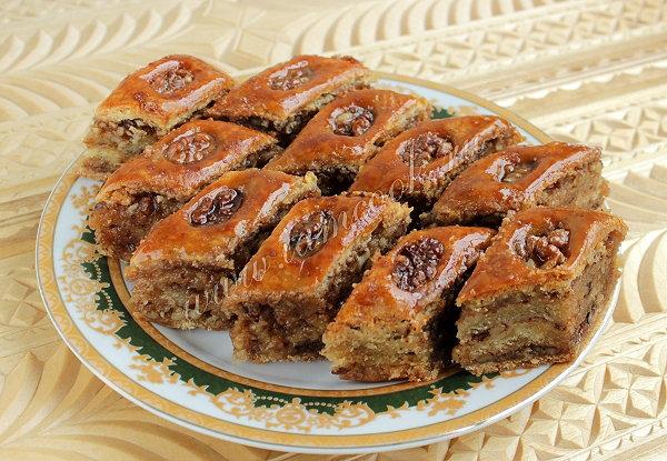 Рецепт пахлавы турецкой в домашних условиях с фото
