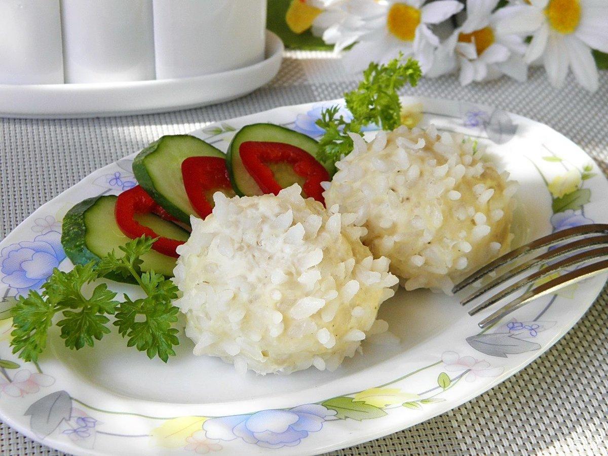 Ежики с рисом пошаговый рецепт