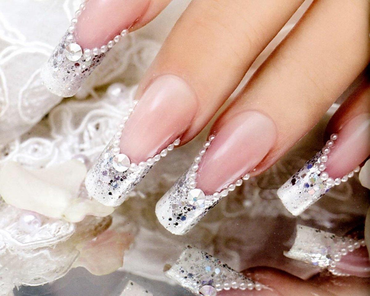 Самый красивый маникюр для невест