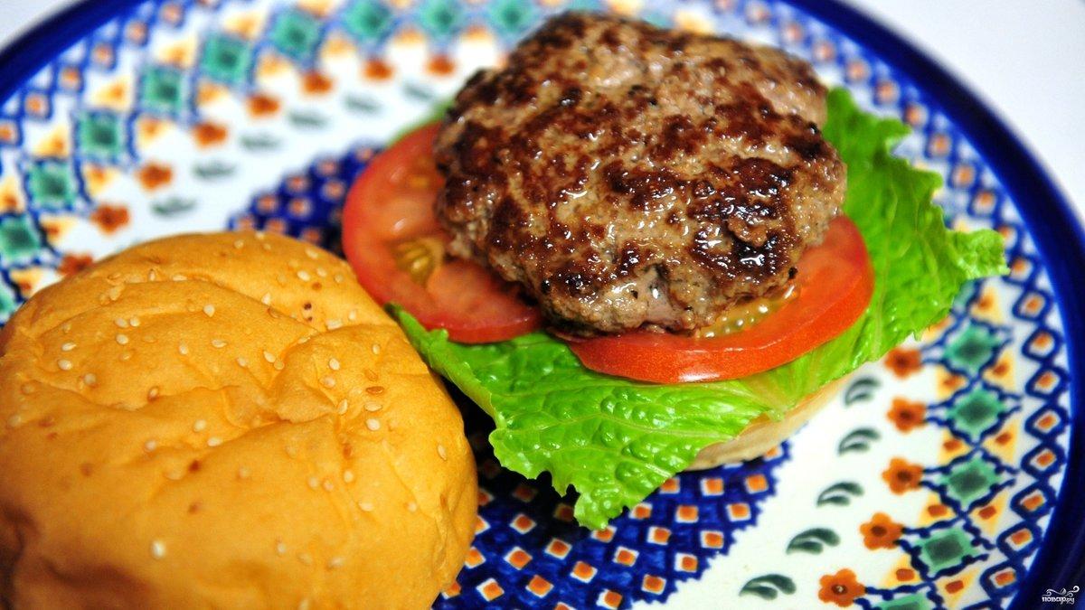 Гамбургеры в домашних условиях рецепты с фото с яйцом и