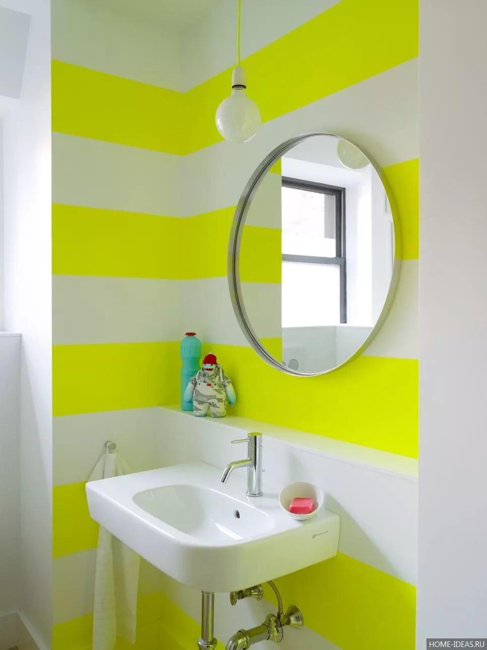 Крашенная ванная - оформляем с умом (77 фото идей дизайна) 860