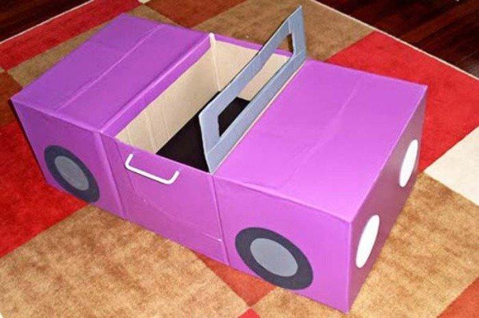 Машина для кукол своими руками видео 22
