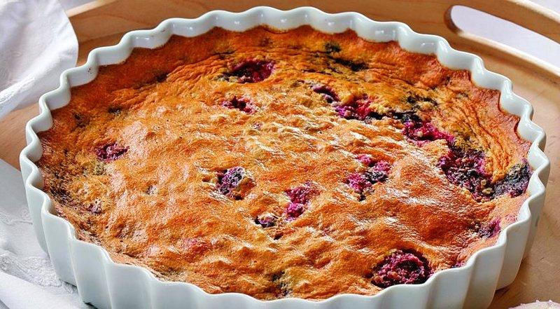 Рецепты ягодного пирога