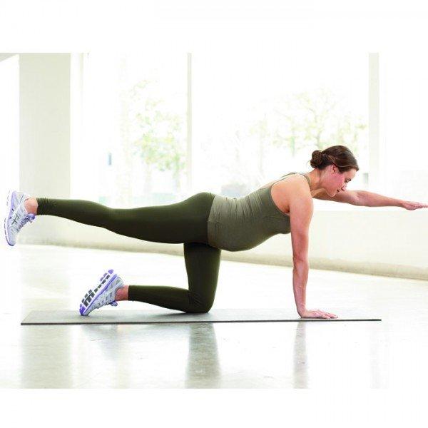 Упражнение для похудения ног для беременных 13