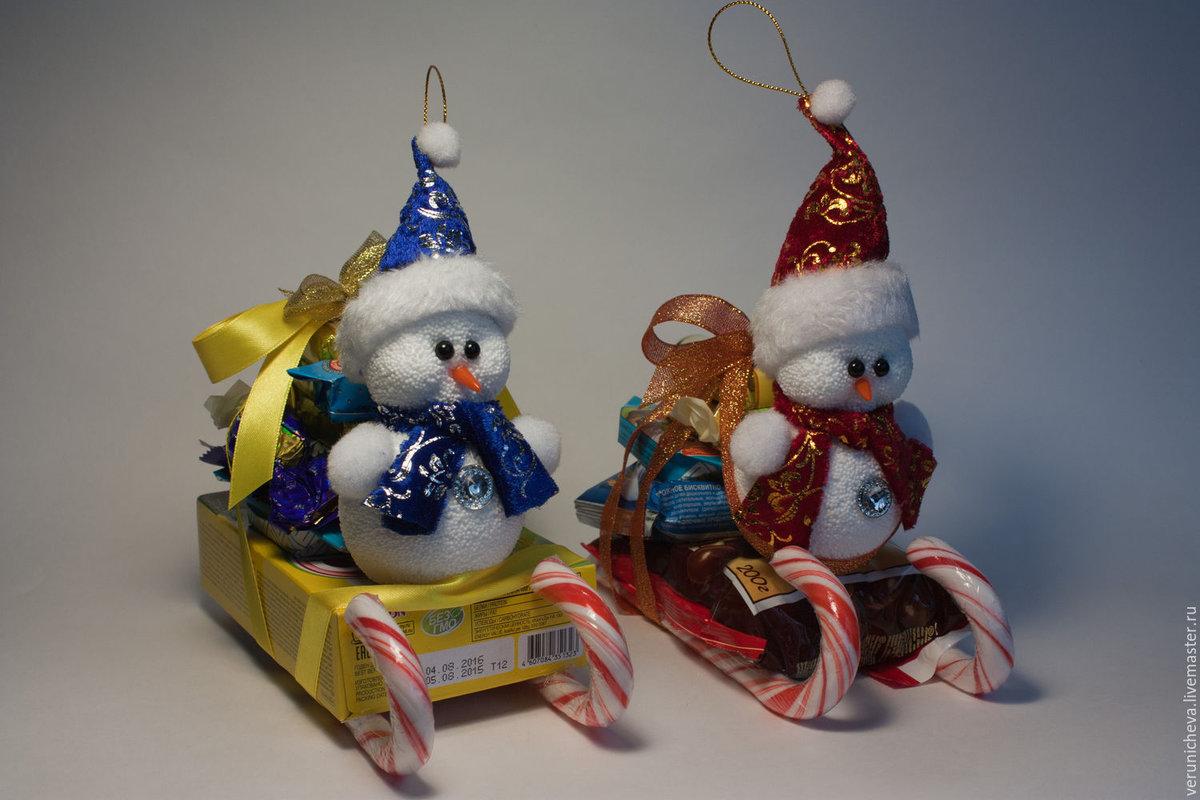 Подарки на новый год своими руками для детей