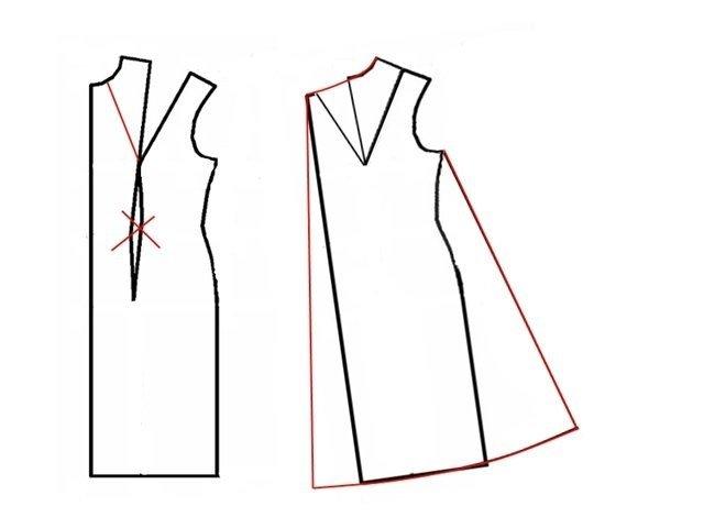 Как сшить платье для беременной своими руками 12