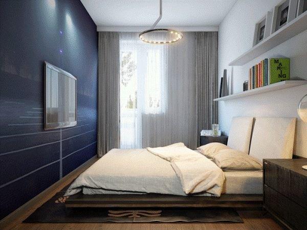 Спальня 13 кв.м реальный дизайн фото