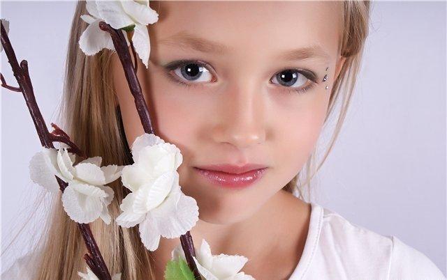 Макияж для детей красивая
