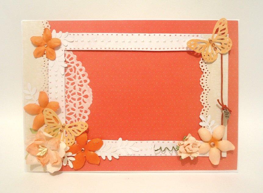 Рамка для фото своими руками для детей из бумаги