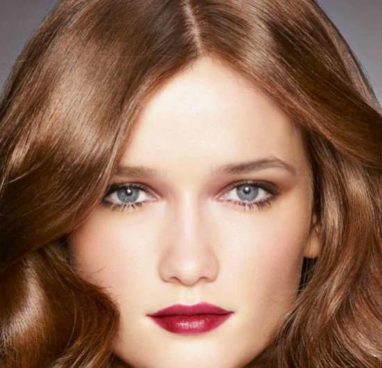 Цвет волос для сине серых глаз