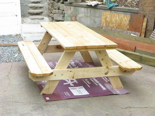Как сделать стол для домика 160