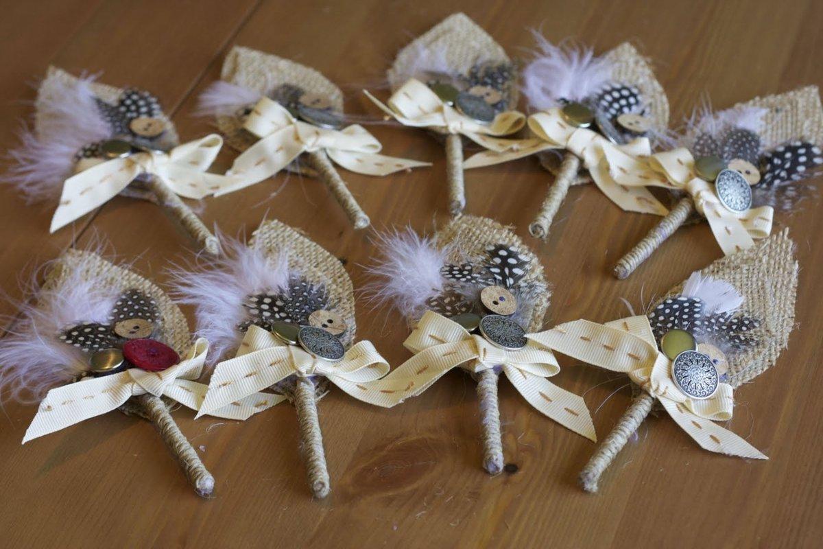 Букет перьев своими руками мастер класс