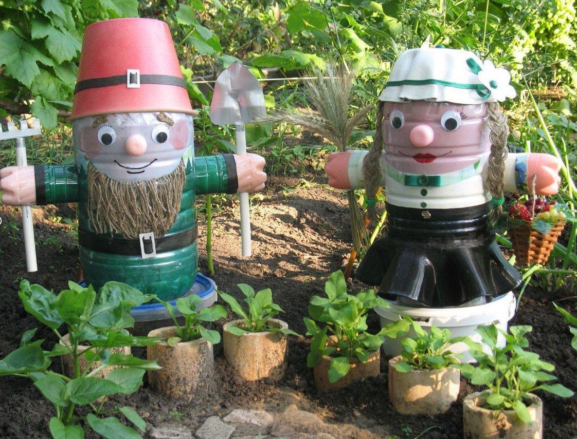 Украшение сада своими руками с пошаговое