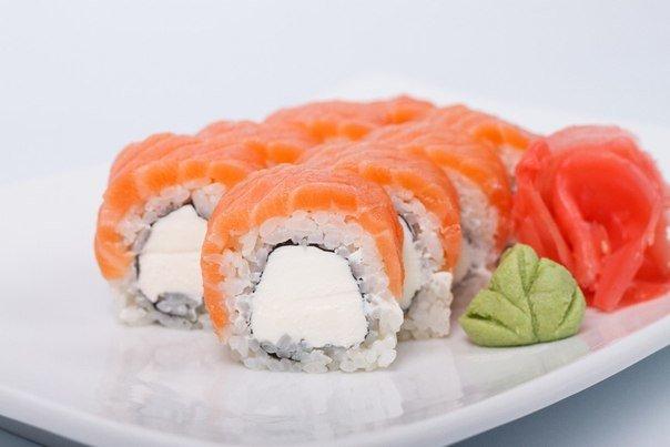 Сушиы с сыром филадельфия