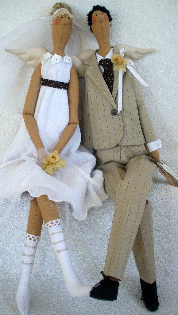 Тильда для невесты и жениха
