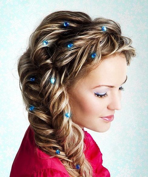 Фото красивых причесок с длинными волосами