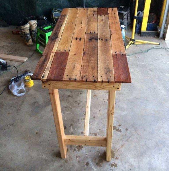 Как сделать стол из досок своими руками для дачи 830