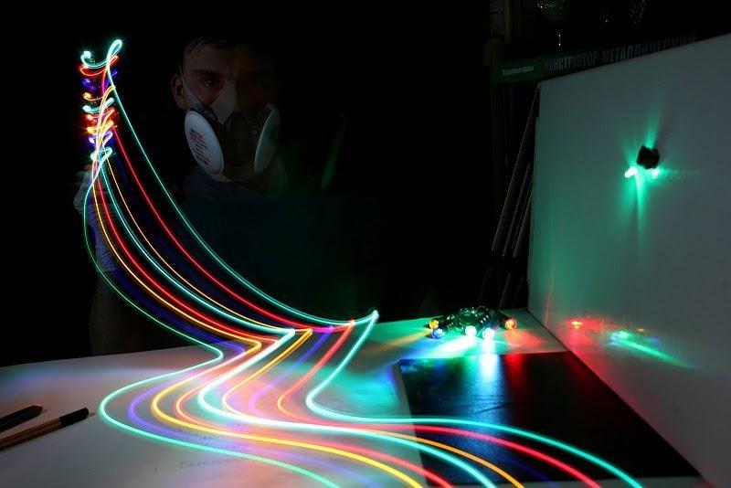 Цветной свет как сделать