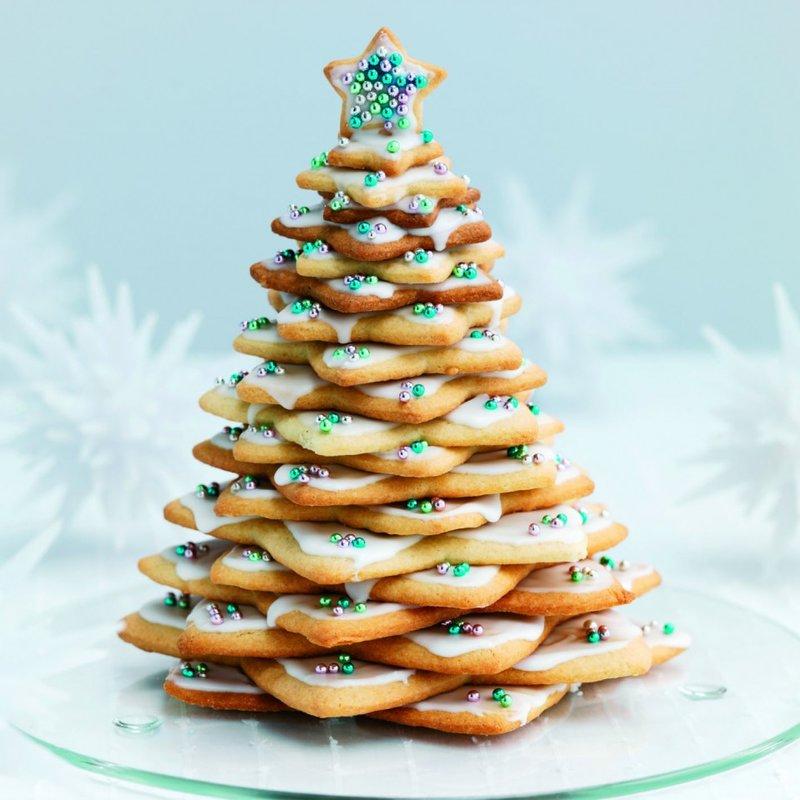 Рецепт печенья елочка