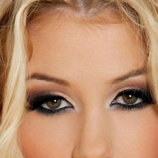 Фото с блондинок с карими глазами пошагово