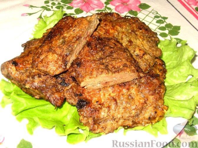 Печеночные отбивные рецепт с пошагово в