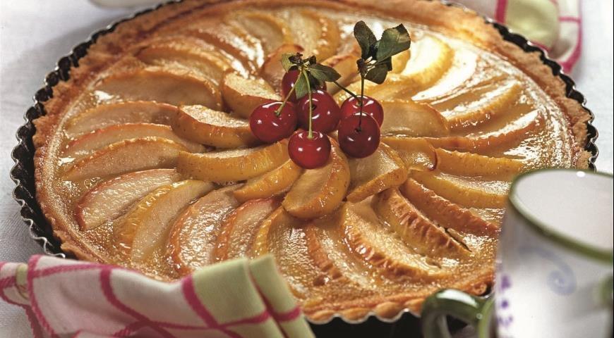 Пирог яблочный открытый 38