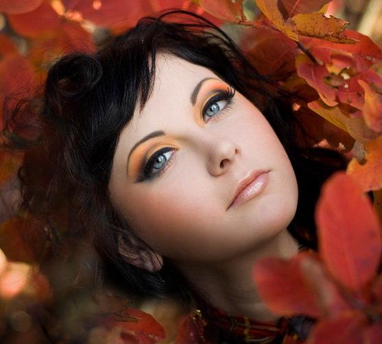 Макияж для осенью