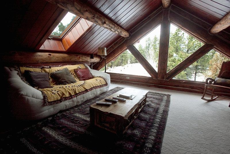 Дизайн крыша на даче фото