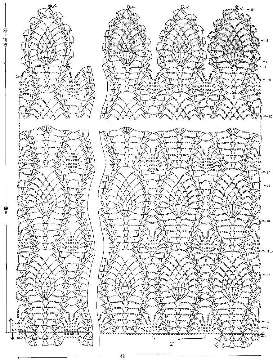 Вязание крючок спицы схемы узоры