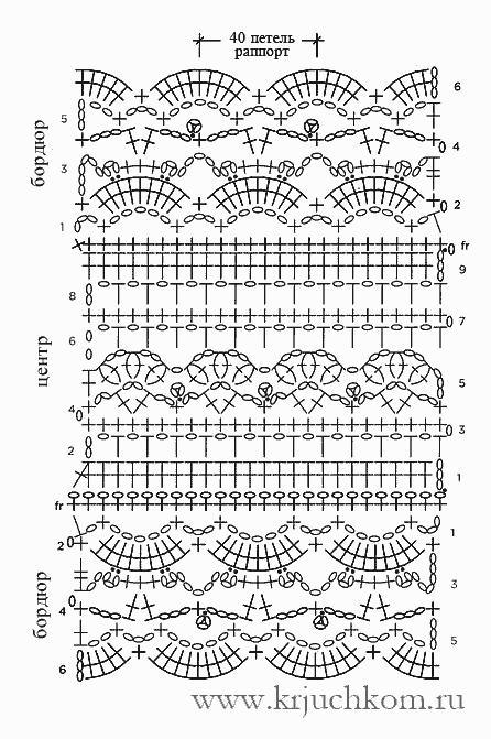 Вязание крючком шарфа снуд схемы и описание 79